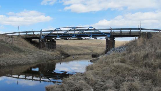 Overhead Crane Nisku : Bridge bf replacement