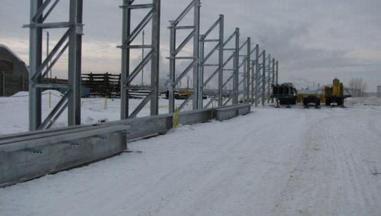 Overhead Crane Nisku : Supreme steel plant expansion